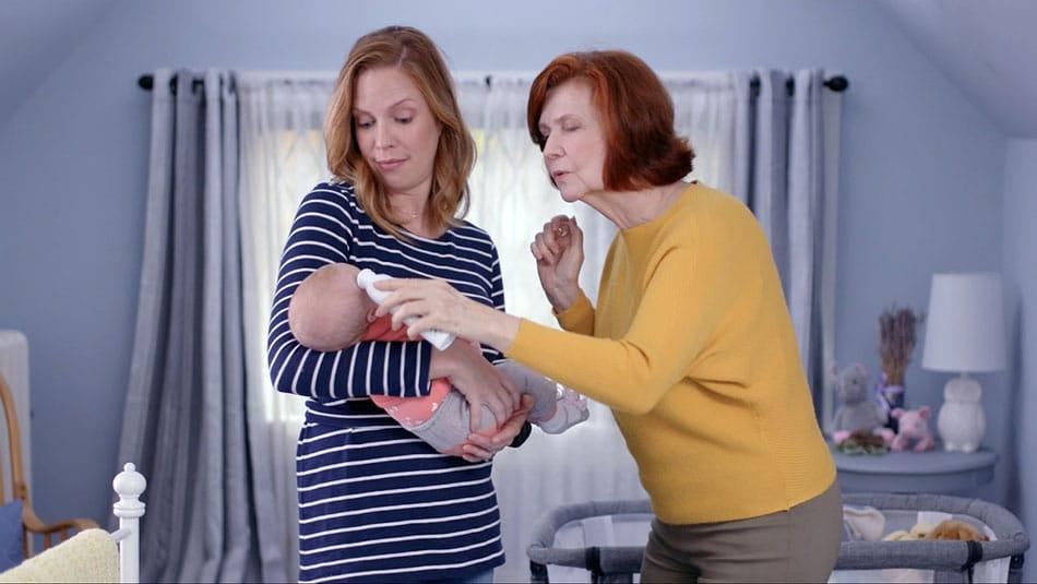poussée de fièvre bébé