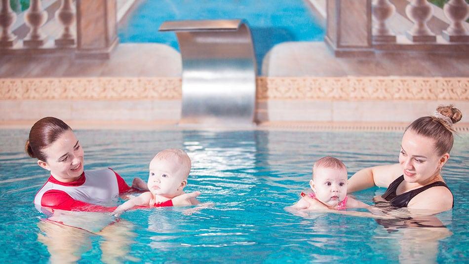 séance bébé nageur